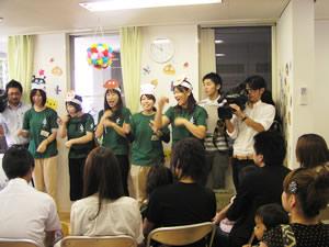 福島から避難してきた子どもたち専用のあいびぃ保育園。9月に山形市小白川町にオープンしました。格安の保育料で、働くお母さんを中心に喜ばれている