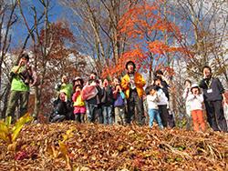 紅葉を満喫する秋の「森の休日」