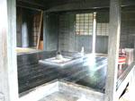 文四郎の家の内部