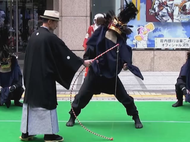 舟渡獅子踊り(舟渡獅子踊り保存会)