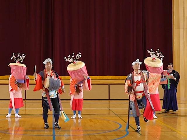 金生田植踊り(金生田植踊り保存会)