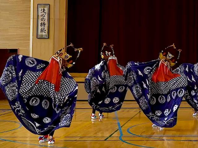東堀越獅子踊り(東堀越獅子踊り保存会)